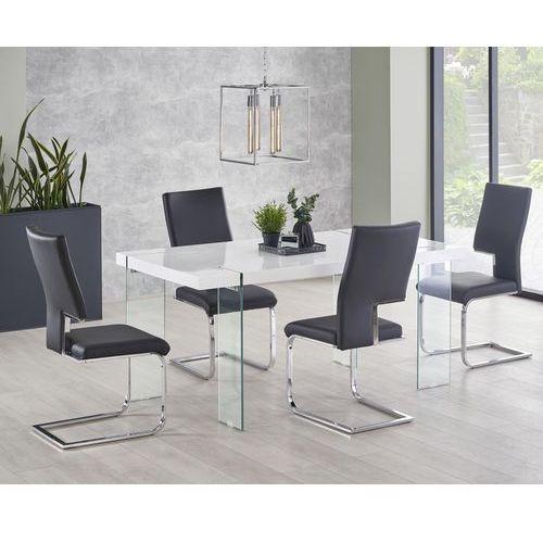 Halmar Lakierowany stół na szklanych nogach milton