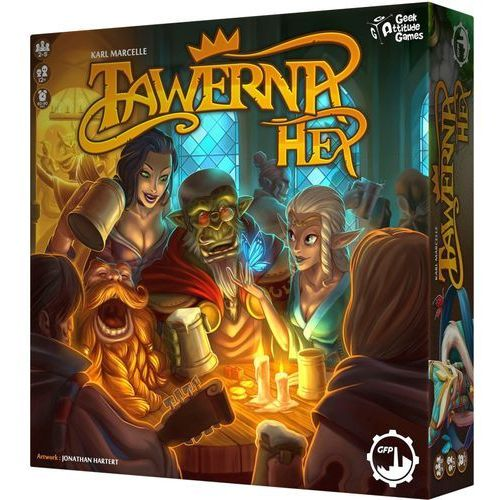Tawerna hex. gra planszowa marki Games factory publishing