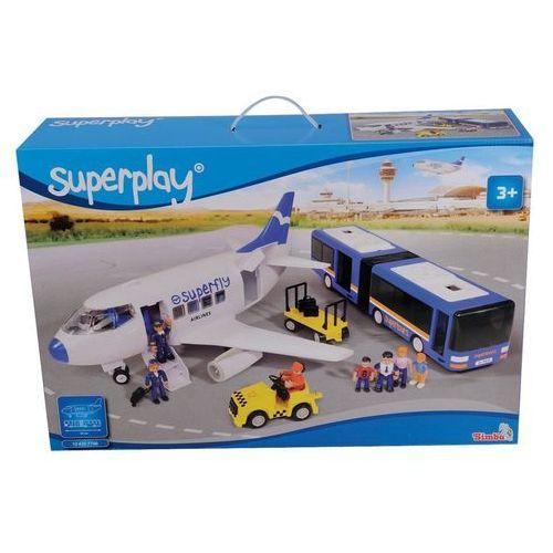 Superplay Mega zestaw z samolotem - Simba