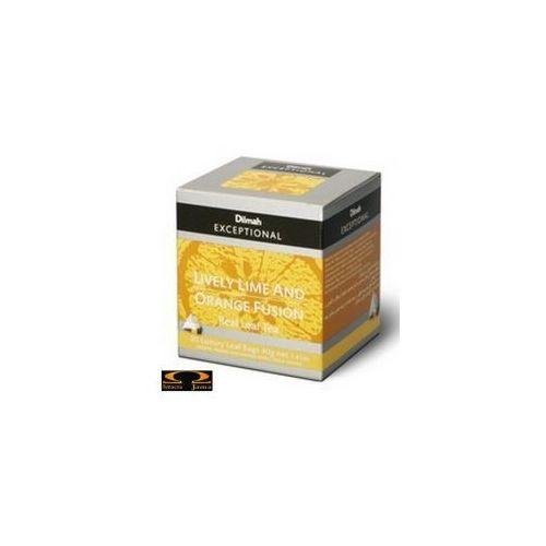 Herbata Dilmah Lively Lime & Orange Fusion - limonkowo pomarańczowa 20 torebek (9312631140415)