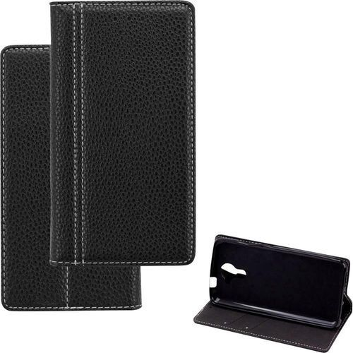 Etui flip do iPhone Perlecom 4260481643035, Pasuje do modelu telefonu: Apple iPhone 7, czarny, kolor czarny