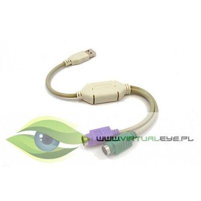 Adapter usb->2xps2 (klawiatura+mysz) uaps12 marki Gembird