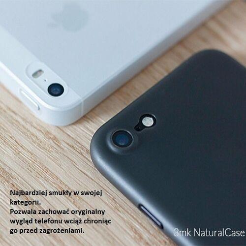 3MK Etui NC Huawei P30 czarny black, Natural Case, kolor czarny