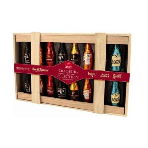 ABTEY 205g Liqueurs de Selection Buteleczki czekoladowe z alkoholem
