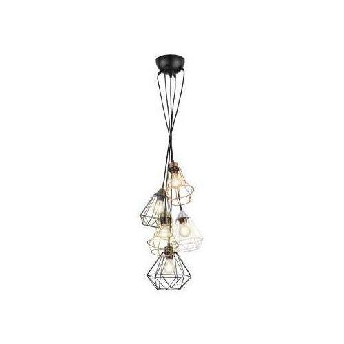 rl meike r30725017 lampa wisząca zwis 5x25w e27 multikolor marki Trio