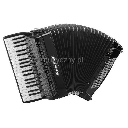 Serenellini  cassotto 374 (2+2) 37/4/11 96/5/5 piccolo akordeon (czarny)