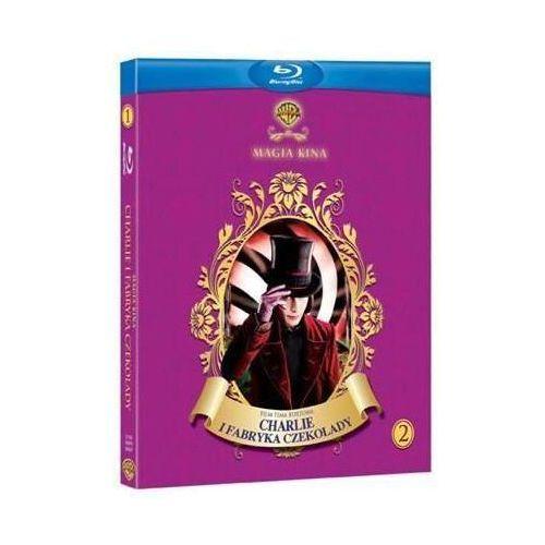 Charlie i fabryka czekolady (Magia kina - Blu-Ray) - Tim Burton DARMOWA DOSTAWA KIOSK RUCHU (7321996156797)