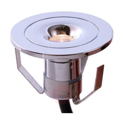 Mała, chromowana oprawa wpuszczana led punto lumi marki Deko-light