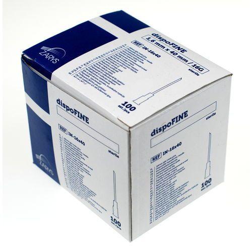 Igły iniekcyjne 0,45 x 22 mm, ZARYS18-IN-045X22