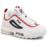 Fila Sneakersy - disruptor cb low 1010707.92n white/fila navy/fila red