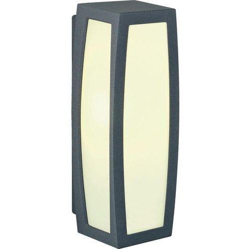 Lampa ścienna zewnętrzna SLV 230045, 1x20 W, E27, IP54, (DxSxW) 13 x 14 x 38 cm (4024163123891)