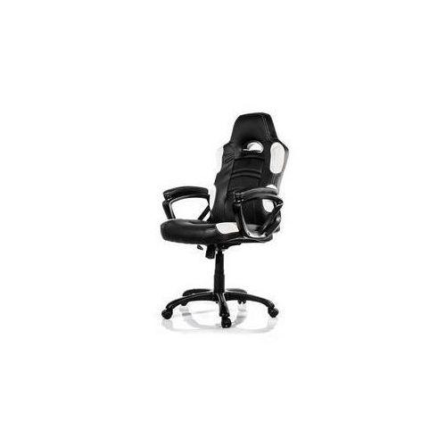 Fotel gamingowy Arozzi ENZO (ENZO-WH) Czarna/Biała