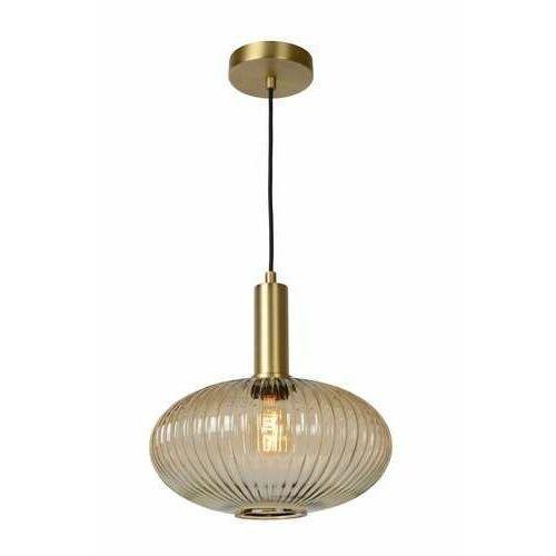 Lucide Maloto 45386/30/62 lampa wisząca zwis 1x40W E27 bursztynowy, 45386/30/62