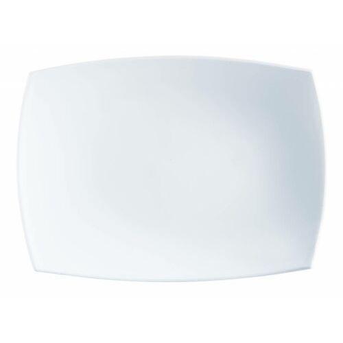 Arcoroc Półmisek delice | biały | 350x260x(h)23mm