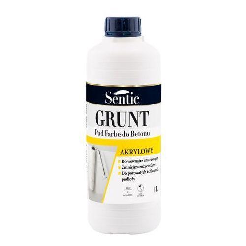 Grunt Sentic pod farbę do betonu biały 1 l, SGFB01