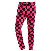GStar PHARRELL WILLIAMS ELWOOD X25 3D Spodnie materiałowe rebel pink/black ao, bawełna