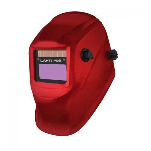 Przyłbica spawalnicza samościemniająca jednozakresowa czerwona lahti pro (l1540600) marki Profix