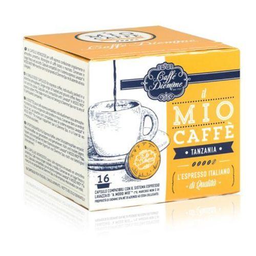 Nespresso kapsułki Diemme tanzania single origin kapsułki do lavazza a modo mio – 16 kapsułek