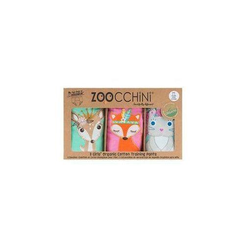 Majtki treningowe dziewcz�ce 2-3 lata 3 szt. Zoocchini (Princess)