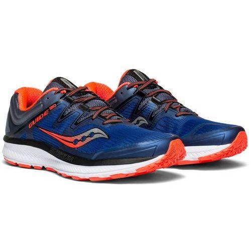 saucony Guide ISO Buty do biegania Mężczyźni niebieski US 8,5 | 42 2018 Szosowe buty do biegania, kolor niebieski