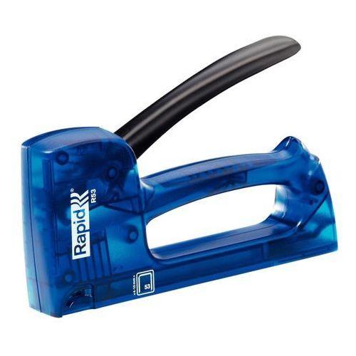 Rapid Zszywacz ręczny tacker r53e xray blue