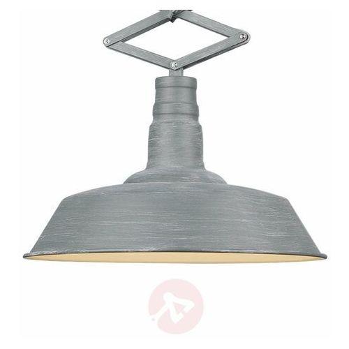 Trio leuchten detroit lampa wisząca siwy, 1-punktowy - przemysłowy/skandynawski - obszar wewnętrzny - detroit - czas dostawy: od 3-6 dni roboczych (4017807411515)