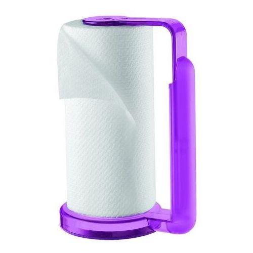 Guzzini - stojak na ręczniki papierowe - latina - fioletowy - fioletowy