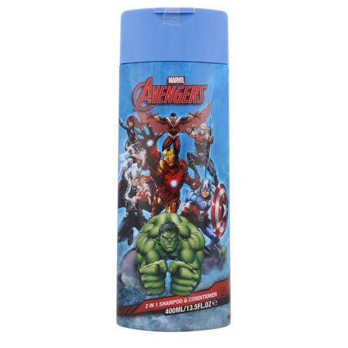 Corsair, Marvel Heroes 2in1 Shampoo&Conditioner. Szampon i odżywka 2w1, 400ml - Corsair, 68630