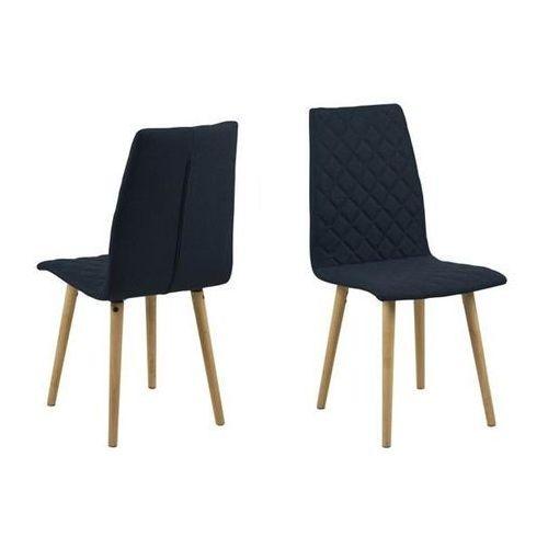 Krzesło abna - granatowy marki Actona