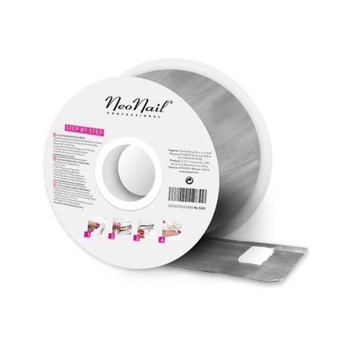 Neonail Foil nail wraps in roll 250 sztuk folie do usuwania hybrydy