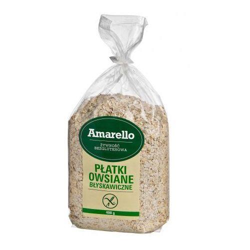 Płatki owsiane błyskawiczne bezglutenowe Amarello 400 g (5903548000349)