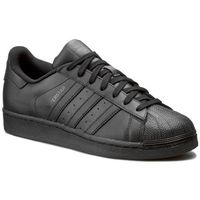 Buty adidas - Superstar Foundation AF5666 Cblack/Cblack/Cblack, kolor czarny