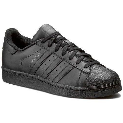 Adidas Buty - superstar foundation af5666 cblack/cblack/cblack