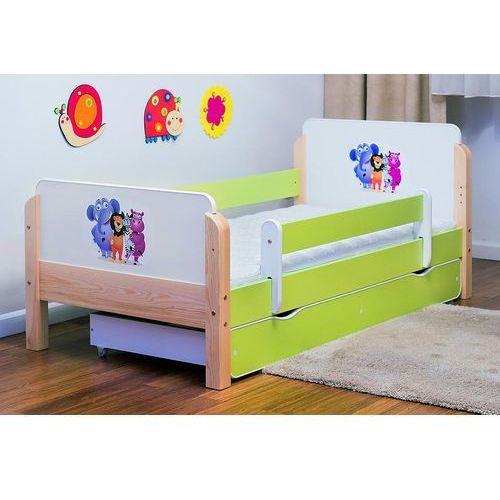 Łóżko dziecięce drewniane  babydreams zoo kolory negocjuj cenę marki Kocot-meble