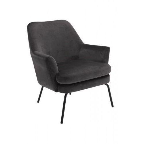 Fotel Chisa VIC ciemnoszary, kolor szary