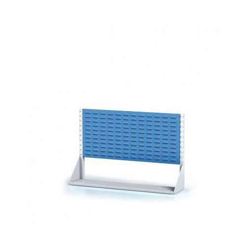 Alfa 3 Perforowany stojak z panelem na pojemniki, 1 piętro, podstawowe pole