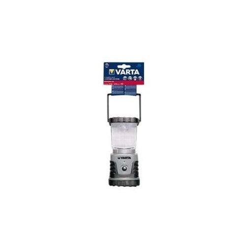 Latarnia kempingowa LED Varta 3D, 4 W Baterie, 18663101111, srebrny czarny, 830 g, 18663101111