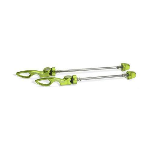 Sixpack Chopstix Zacis do kół Set VR 100 mm HR 135 mm zielony Zaciski do kół (4260381422723)