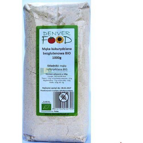 Mąka kukurydziana bezglutenowa BIO 1kg Denver Food