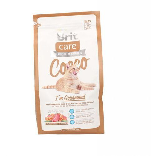 Brit  care cat cocco im gourmand 2kg + dreamies 30g gratis