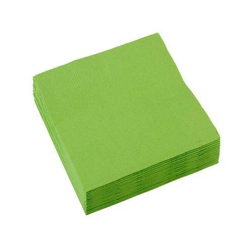 Amscan Serwetki zielone - 25 cm - 20 szt. (0013051271473)