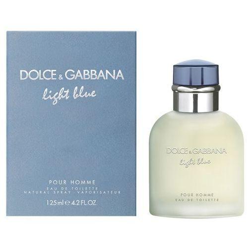 Dolce&Gabbana LIGHT BLUE Men 125ml EdT - produkt z kategorii- Wody toaletowe dla mężczyzn