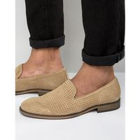 Selected Homme Bolton Perforated Loafers - Stone