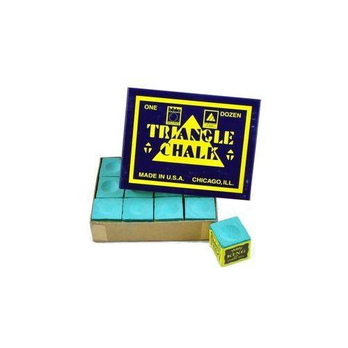 Kreda bilardowa Triangle zielona 12szt/ paczka