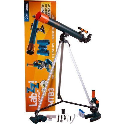 Levenhuk mikroskop, teleskop i lornetka, LabZZ MTB3