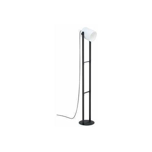 hornwood 1 43429 lampa stojąca podłogowa 1x28w e27 czarna/biała marki Eglo