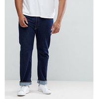 Levi's Big & Tall 501 Straight Jeans One Wash - Navy