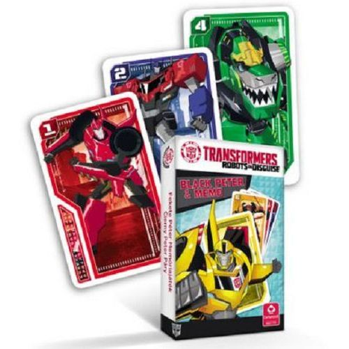 OKAZJA - Transformers piotrus/memo premium marki Cartamundi