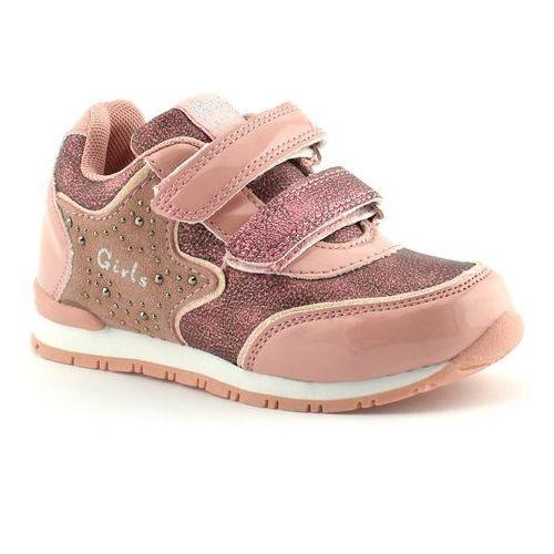 Buty sportowe dla dzieci American Club K17225 - Różowy, kolor różowy