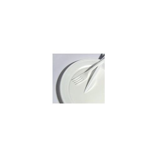Talerzyki jednorazowe 20,5cm białe, 100szt. marki Bagstar